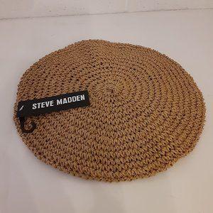 NWT Steve Madden Straw Beret